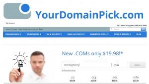 how to get a domain name screenshot